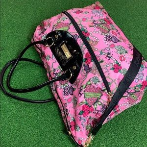 Betsey Johnson Travel Overnight Duffle Bag